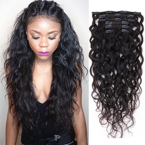 Clip in Curly Hair Extension Wavy