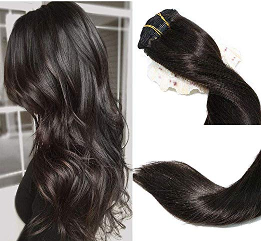 Black Hair Extensions Clip Ins Thick Full