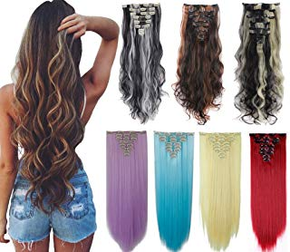 Cheap clip in hair extensions below $10