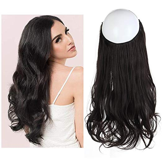 Cheap clip in hair extensions wavy natural