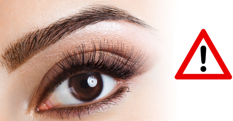 legal concerns of eyelash tinting